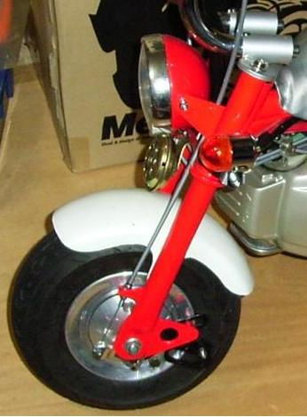 non sus front fork z31m